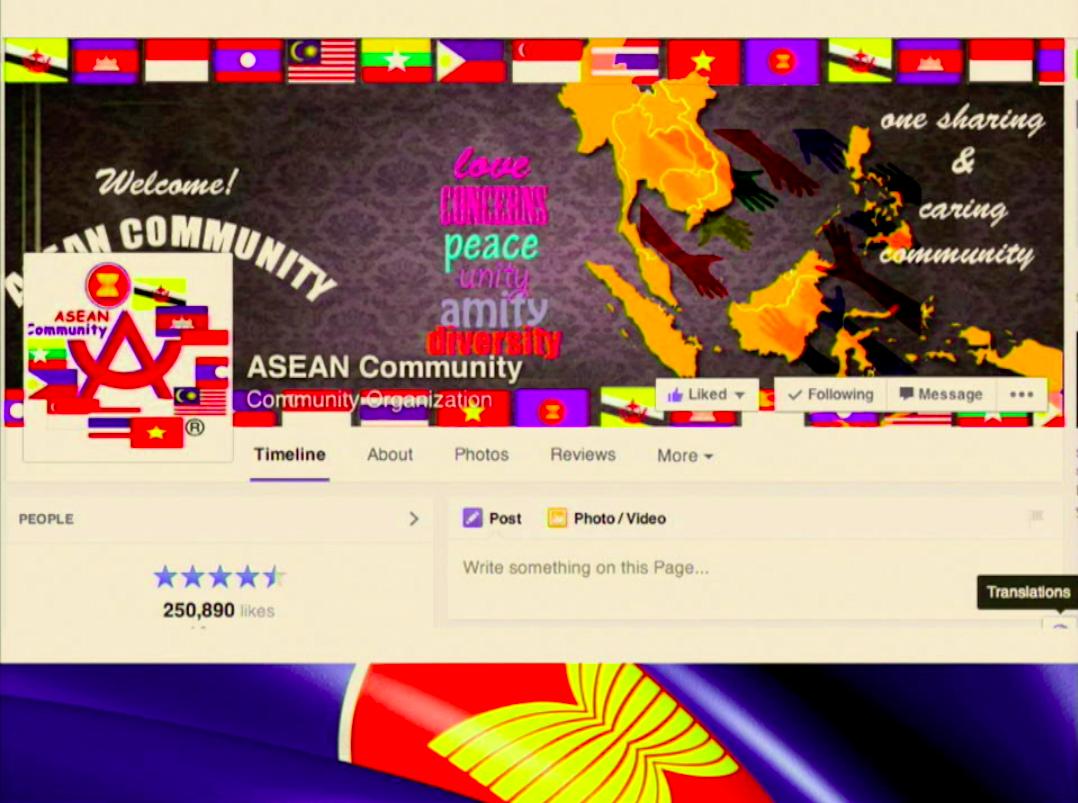 ASEAN Community: อัตลักษณ์ความเป็นชาติและความเป็นภูมิภาคบนเฟซบุ๊กแฟนเพจ